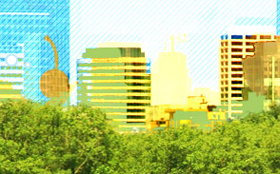 Artwork from Bike Walk Twin Cities homepage